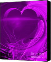 Complex Canvas Prints - Love . A120423.279 Canvas Print by Wingsdomain Art and Photography