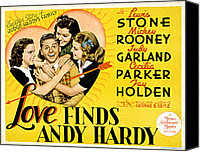 Posth Canvas Prints - Love Finds Andy Hardy, Judy Garland Canvas Print by Everett