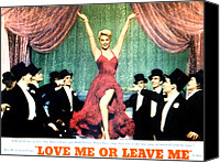 1955 Movies Canvas Prints - Love Me Or Leave Me, Doris Day, 1955 Canvas Print by Everett