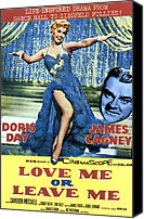 1955 Movies Canvas Prints - Love Me Or Leave Me, From Left Doris Canvas Print by Everett