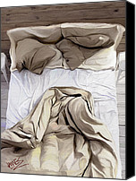  Backdrop Canvas Prints - Love nest Canvas Print by James Shepherd