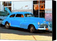 Havana Daydreams Canvas Prints - Low Rider Canvas Print by Dominic Piperata