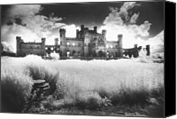 Haunted House Photo Canvas Prints - Lowther Castle Canvas Print by Simon Marsden