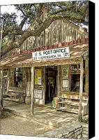 Willie Canvas Prints - Luckenbach Canvas Print by Scott Norris