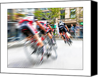 Transportation Glass Special Promotions - Lucky Number 13 Canvas Print by Brian Carson