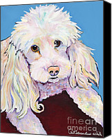 Pat Saunders-white Canvas Prints - Lucy Canvas Print by Pat Saunders-White