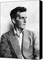 Austrian Canvas Prints - Ludwig Wittgenstein Canvas Print by Granger