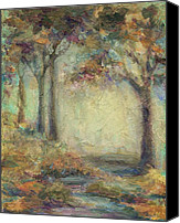 Mary Wolf Canvas Prints - Luminous Landscape Canvas Print by Mary Wolf