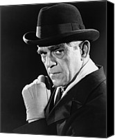Publicity Shot Canvas Prints - Lured, Boris Karloff, 1947 Canvas Print by Everett