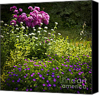 Tranquil Canvas Prints - Lush blooming garden  Canvas Print by Elena Elisseeva