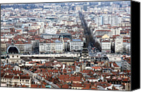 Lyon Canvas Prints - Lyon Canvas Print by Luiz Felipe Castro
