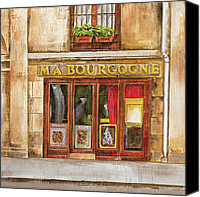 Shop Painting Canvas Prints - Ma Bourgogne Canvas Print by Debbie DeWitt