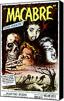 1950s Movies Canvas Prints - Macabre, 1958 Canvas Print by Everett