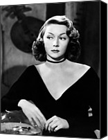 Choker Canvas Prints - Macao, Gloria Grahame, 1952 Canvas Print by Everett