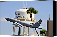 Tampa Bay Florida Canvas Prints - MacDill Air Force Base Canvas Print by David Lee Thompson