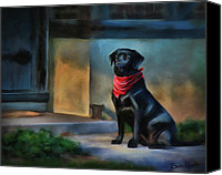 Simulation Canvas Prints - Mack Waits Canvas Print by Suni Roveto