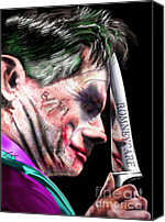 Mitt Canvas Prints - Mad Men Series 2 of 6 - Romney the Joker Canvas Print by Reggie Duffie