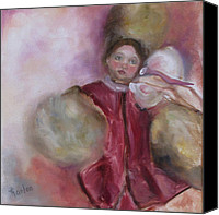 Susan Hanlon Canvas Prints - Madame Alexander Cisette Doll Canvas Print by Susan Hanlon