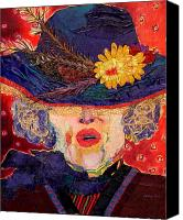 Diane Fine Canvas Prints - Madame Canvas Print by Diane Fine