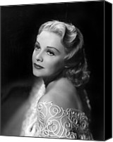 Publicity Shot Canvas Prints - Madeleine Carroll, Paramount Pictures Canvas Print by Everett