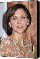 At A Public Appearance Canvas Prints - Maggie Gyllenhaal At A Public Canvas Print by Everett