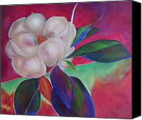 Susan Hanlon Canvas Prints - Magnolia I Canvas Print by Susan Hanlon