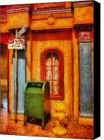 Thank Canvas Prints - Mailman - No Parking Canvas Print by Mike Savad