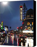 Kansas City Canvas Prints - Main Street Kansas City Canvas Print by Steve Karol
