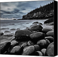 Acadia Canvas Prints - Main sunrise on the rocks Canvas Print by Chad Tracy