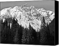 Absence Canvas Prints - Majestic Mountains, British Columbia, Canada Canvas Print by Brian Caissie