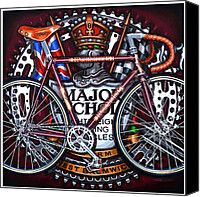 Major Painting Canvas Prints - Major Nichols Canvas Print by Mark Howard Jones