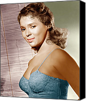 1950s Movies Canvas Prints - Malaga, Dorothy Dandridge, 1954 Canvas Print by Everett