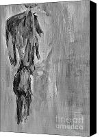 Handsome Canvas Prints - Male Nude 3 Canvas Print by Julie Lueders 