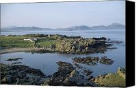 Tourist Destinations Canvas Prints - Malin Head, Co Donegal, Ireland Canvas Print by The Irish Image Collection 