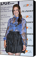Half-length Canvas Prints - Mandy Moore In Attendance For Aspca Canvas Print by Everett