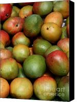 Mangoes Canvas Prints - Mangoes Canvas Print by Carol Groenen