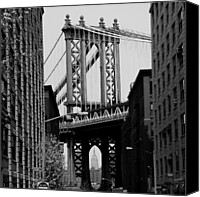 Empire Photo Canvas Prints - Manhattan Empire Canvas Print by Andrew Fare