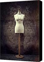 Necklace  Canvas Prints - Mannequin Canvas Print by Joana Kruse
