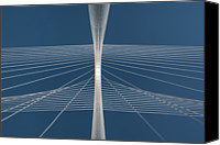 Cable Canvas Prints - Margaret Hunt Hill Bridge Canvas Print by Todd Landry Photography