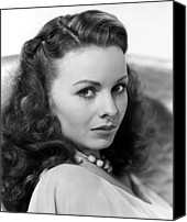 1946 Movies Canvas Prints - Margie, Jeanne Crain, 1946 Canvas Print by Everett