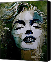 Marilyn Monroe  Canvas Prints - Marilyn no10 Canvas Print by Paul Lovering