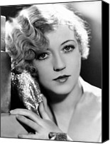 Gold Lame Canvas Prints - Marion Davies, 1928 Canvas Print by Everett