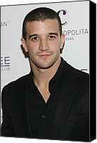Nightclub Canvas Prints - Mark Ballas At Arrivals For Kim Canvas Print by Everett