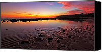 Exposed Canvas Prints - Maroubras Moment Canvas Print by Mark Lucey