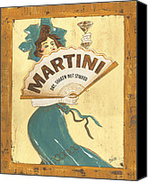 Dry Painting Canvas Prints - Martini dry Canvas Print by Debbie DeWitt