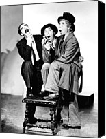 Team Canvas Prints - Marx Brothers, The Groucho, Chico Canvas Print by Everett