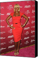 Four Women Canvas Prints - Mary J. Blige At Arrivals For Varietys Canvas Print by Everett