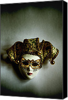 Porcelein Canvas Prints - Mask Canvas Print by Margie Hurwich
