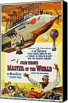 Aircraft Poster Photo Canvas Prints - Master Of The World, Lower Right Canvas Print by Everett