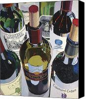 Wine Art Canvas Prints - Masters of the Art Canvas Print by Christopher Mize
